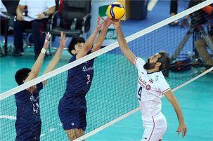 تیم ملی والیبال ایران به مصاف کره جنوبی می رود
