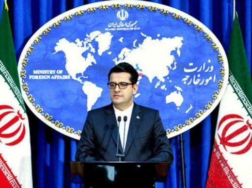 سخنگوی وزارت خارجه: توقیف کشتی ایرانی غیرقانونی و تنشزا است