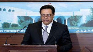 حسن دیاب نخست وزیر لبنان از سمت خود استفعفا داد