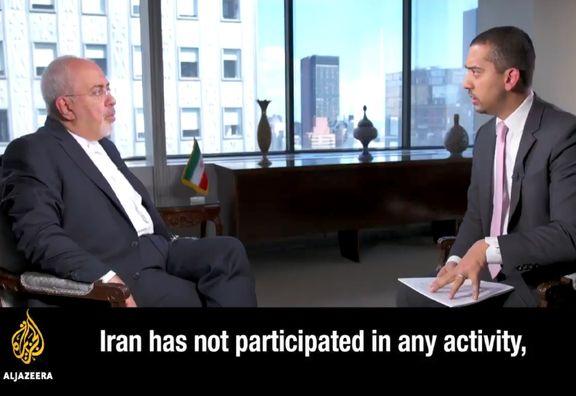 ظریف: ایران هرگونه حمله به غیرنظامیان را محکوم می کند