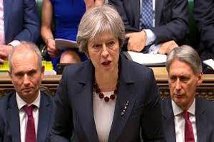 نخست وزیر انگلیس عازم استراسبورگ شد