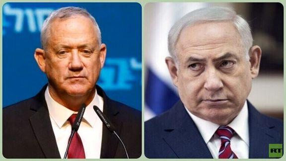 رژیم صهیونیستی بر سر ائتلاف میان گانتس و نتانیاهو به مشکل خورد