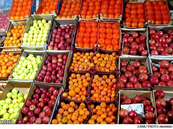 کاهش قیمت انواع میوه در بازار