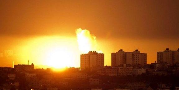 حمله پهپادی رژیم صهیونیستی به برج دیدهبانی حماس