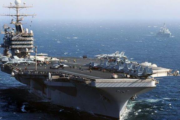 ماجرای شنا کردن نیروهای امریکا در خلیج فارس + عکس