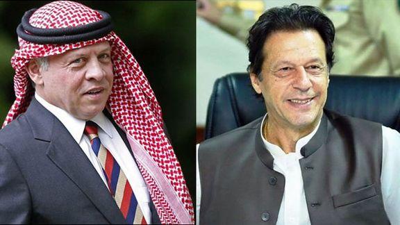 میانجی گری پادشاه اردن بین پاکستان و هند