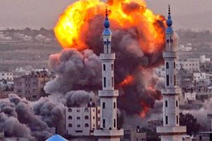 یورش صهیونیستها ۲۴ فلسطینیی را کشته و ۷۱ نفر زخمی شدند