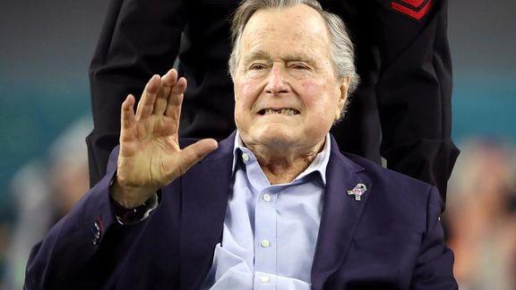 جورج بوش پدر مرد