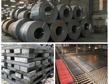 بورس کالا میزبان عرضه ۲۹۱ هزار تن شمش، تختال و ورق فولاد
