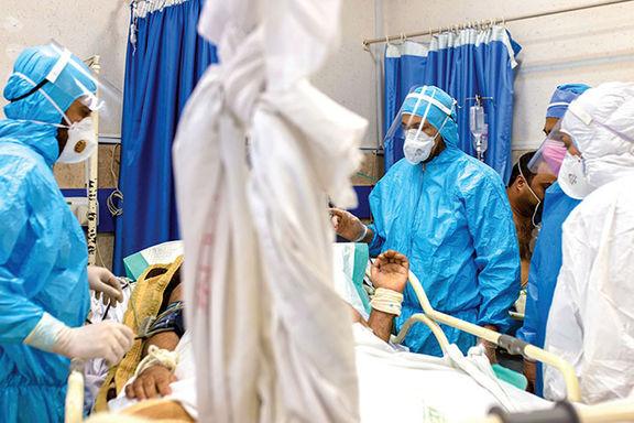 فوت ۵۰۸ نفر در شبانه روز گذشته بر اثر کرونا