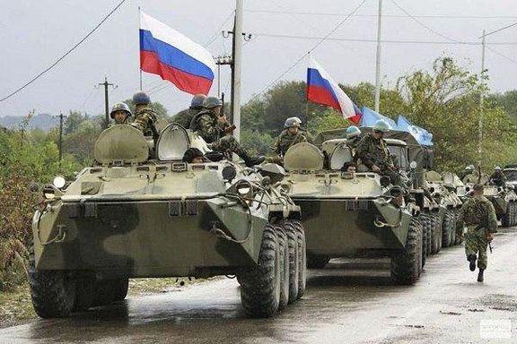 اعزام ۳۰۰ نظامی و ۲۰ خودرو زرهی روسیه به شمال سوریه