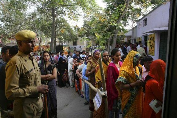 انتخابات پارلمانی هند آغاز شد+ عکس