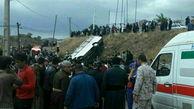 سقوط مینیبوس در مسیر کوه شاهو در استان کرمانشاه / 13 نفر کشته شد