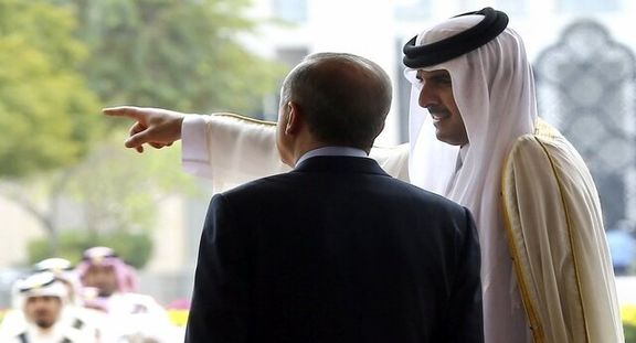 امیر قطر و رئیس جمهور ترکیه با یکدیگر دیدار کردند