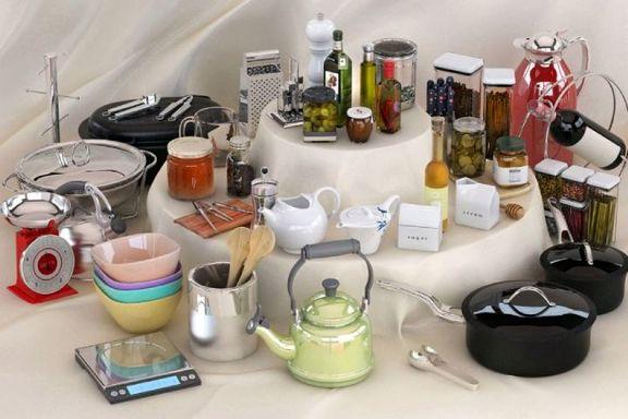 تازه ترین قیمت انواع وسایل آشپزخانه+ جدول