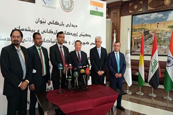 هندیها مشتری نفت کردستان عراق شدند