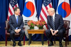 دونالد ترامپ یک قرارداد تجاری عمده را با کره جنوبی امضا کرد