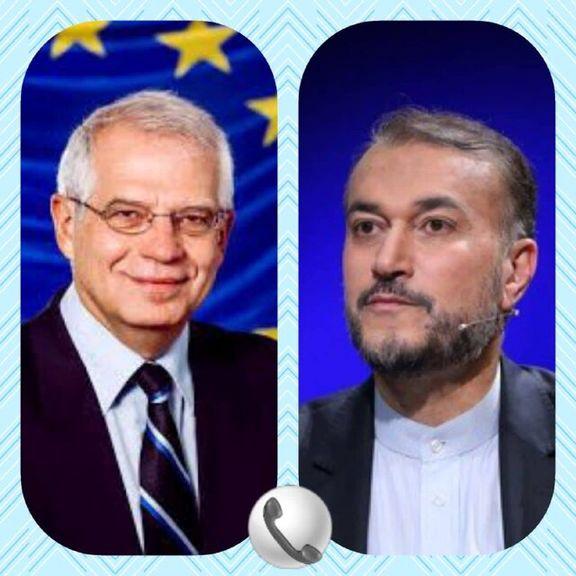 جوزپ بورل خواهان تعیین تاریخ مذاکرات توسط تهران شد