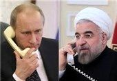 رایزنی تلفنی پوتین و روحانی درباره سوریه