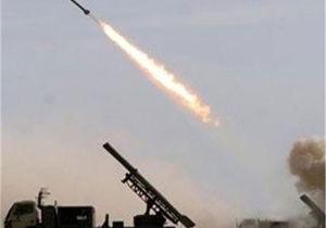 نیروهای یمن پنج موشک را به سمت مواضع  ائتلاف سعودی شلیک کردند