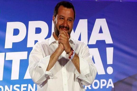 حزب راستگرای «ماتئو سالوینی» پیروز اصلی پارلمان اروپا در ایتالیا