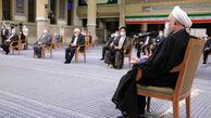تکذیب خبر تاخیر عامدانه روحانی در جلسه با رهبر انقلاب/ جلسه زودتر از موعد آغاز شده بود!