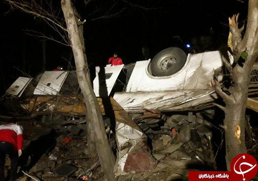 اسامی مجروحان حادثه اتوبوس تهران - کلاله اعلام شد