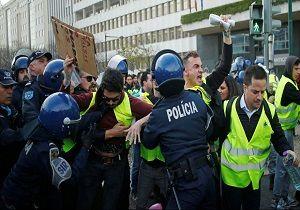 فرانسه ۲۱۶ جلیقهزرد را روانه زندان کرد