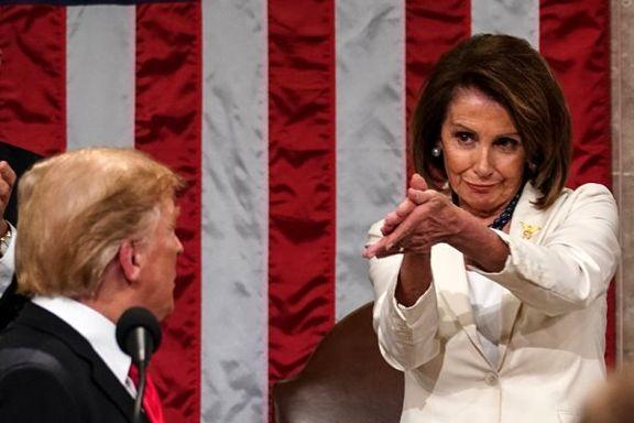 ترامپ «نانسی پلوسی» را فردی کثیف و کینه جو خواند