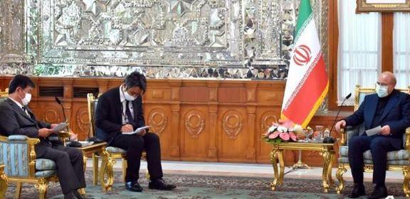 قالیباف خواهان اقدام جدی ژاپن برای آزادسازی داراییهای ایران شد