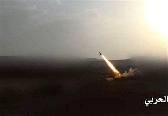 شلیک موشک بدر1-پی به مواضع متجاوزان سعودی