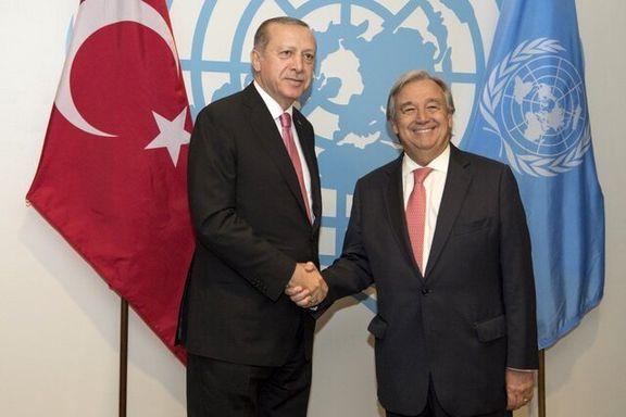 دبیرکل سازمان ملل به آنکارا می رود