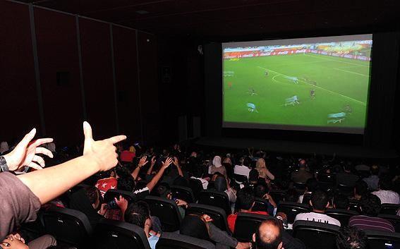 قیمت بلیط در سینماها برای تماشای جام جهانی فوتبال مشخص شد