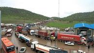 500 دستگاه کامیون در مرز بازرگان منتظر اجازه ورود از سوی ترکیه هستند/ تامین جان و مال کامیونداران