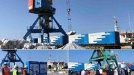 ورود نخستین محموله ترانزیتی ازبکستان از طریق بندر «آکتائو» قزاقستان