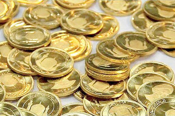افزایش 1 میلیون تومانی قیمت سکه نسبت به روز گذشته