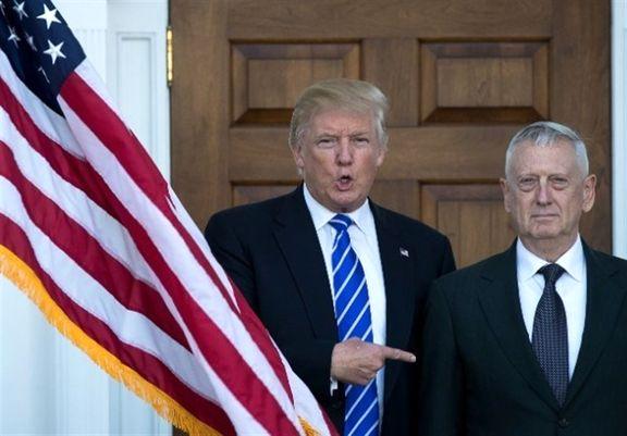 روابط تنش زا ترامپ با  وزیر دفاع اش