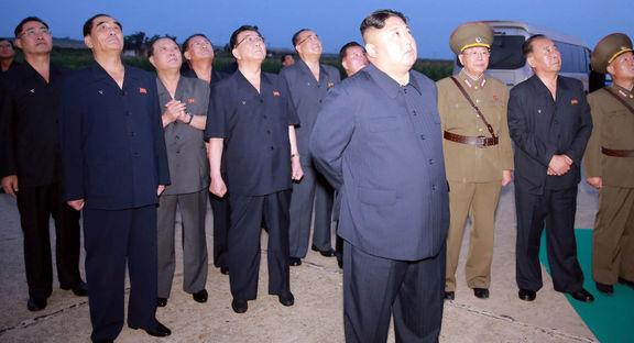 آزمایش موفقیت آمیز پرتاب گرهای مافوق سنگین با هدایت کیم جونگ اون