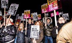 اعتراضات گسترده در لندن  سفر ترامپ را لغو کرد