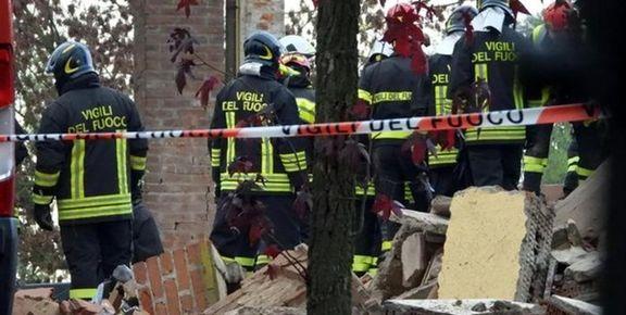 مرگ سه آتشنشان در انفجار یک خانه