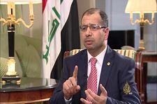 سلیم جبوری رئیس کنونی پارلمان عراق،  از راهیابی به پارلمان عراق باز ماند