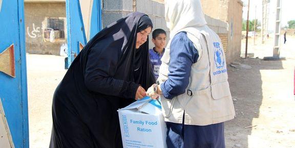 برنامه جهانی غذا سازمان ملل 600 هزار دلار به سیلزدگان خوزستان کمک کرد