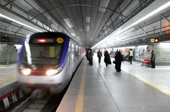 برنامه حرکت مترو در شب های قدر