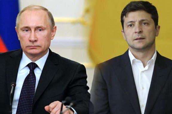 زمان دیدار پوتین و زلنسکی اعلام شد
