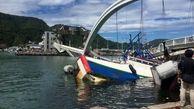 سقوط یک پل در تایوان