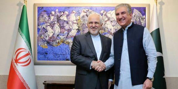 ظریف با همتای پاکستانی خود دیدار و گفتگو کرد+ عکس