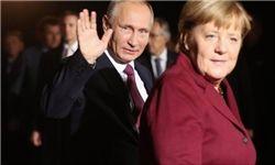 گفتگوی مرکل و پوتین درباره خروج آمریکا از برجام