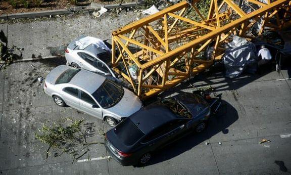 پیمانکار پارک بسیج بازداشت شد / در پی سقوط جرثقیل دو نفر کشته و چهار نفر مصدوم شدند