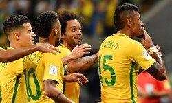 ترکیب  تیمهای برزیل و بلژیک مشخص شد