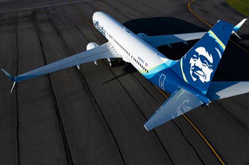 ویدئوی سقوط هواپیمای شرکت «آلاسکا ایرلاینز»  شهر سیاتل + ویدئو